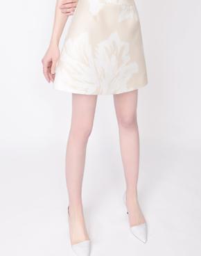 修身显瘦印花两件套连衣裙